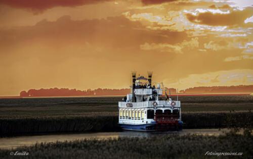 Raddampfer Ostsee Zingst